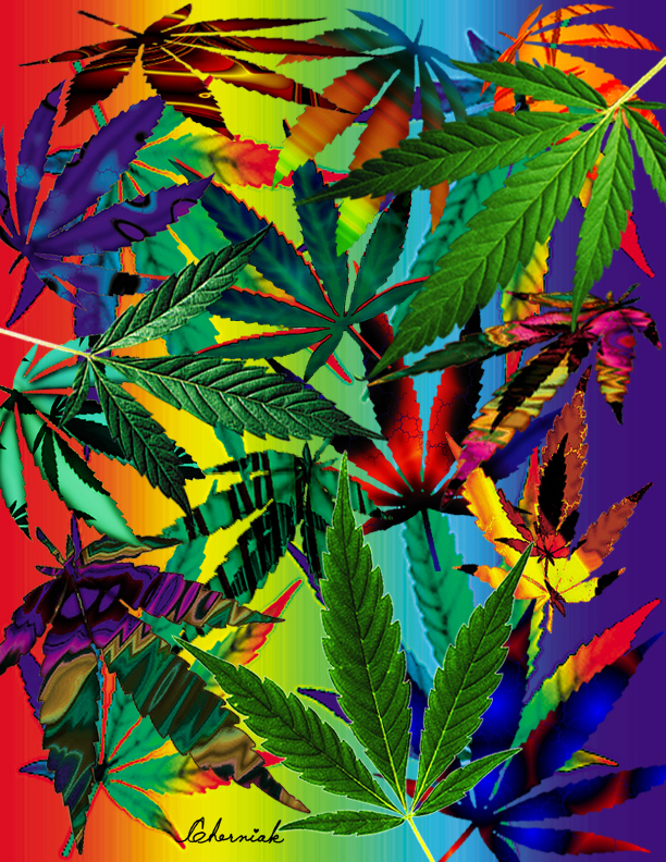 Marijuana Leaves Clip Art